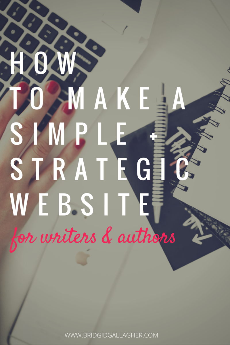 Today we're talking about your writer or author website, and how to use it to achieve your goals. I'll share with you the basics you need to make a great first impression online, plus the most important thing every author should include on their website >>>