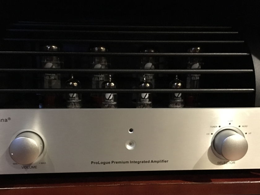 Primaluna  Prologue Premium Integrated Stereo Amplifier EL34 Tubes GREAT shape