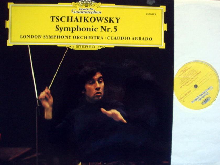 DG / ABBADO-LSO, - Tchaikovsky Symphony No.5, MINT!