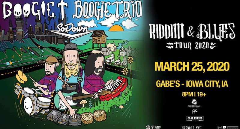 Boogie T and Boogie T.rio Riddim and Blues Tour