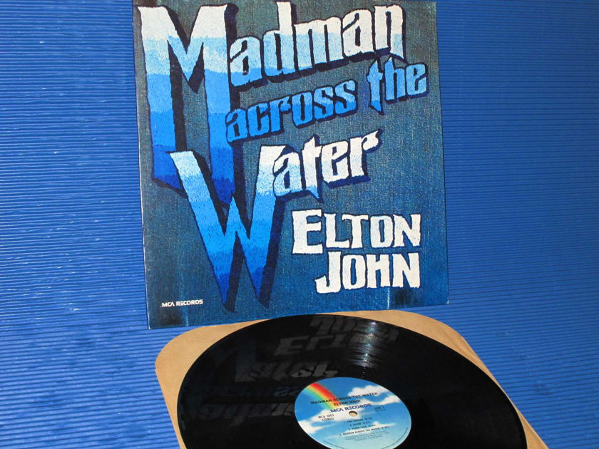"ELTON JOHN  - ""Madman Across the Water"" -  MCA 1977 1st pressing Side I Hot Stamper"