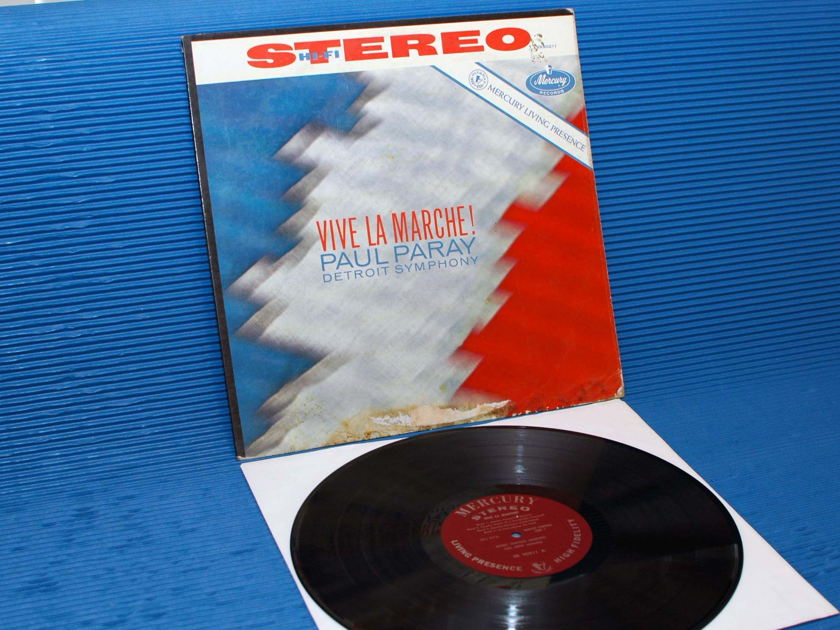 """VARIOUS/Paray -  - """"Vive La Marche"""" -  Mercury Living Presence 1960 1st pressing"""