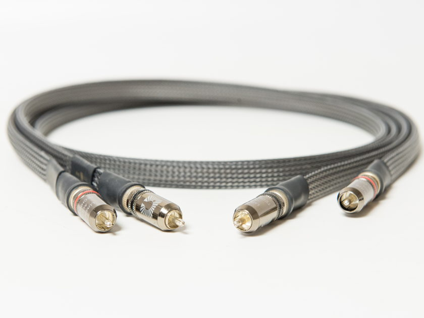 MG Audio Design Planus Cu RCA interconnects 1.5m