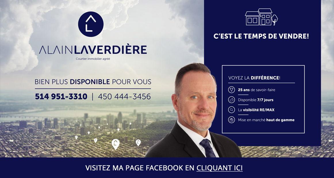 Alain Laverdière - Courtier immobilier REMAX Platine