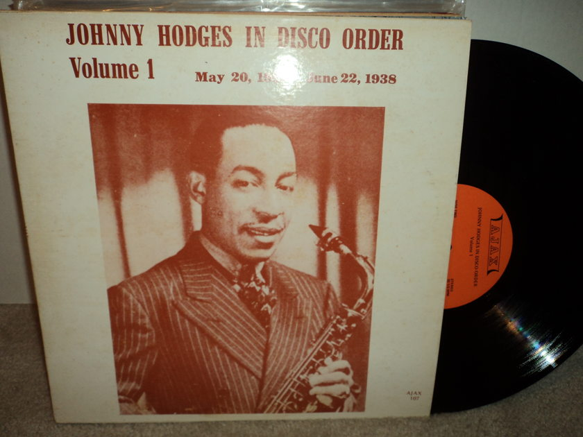 Johnny Hodges in Disco Order Vol. 1 - May 20, 1937 - June 22, 1938 Ajax 107