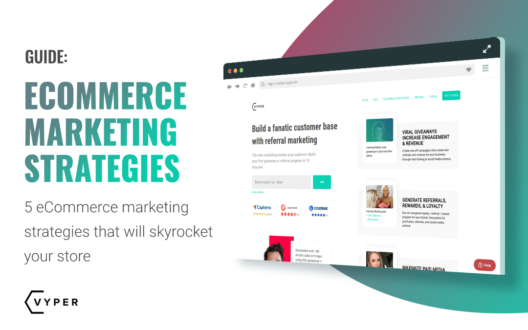 5 Ecommerce Marketing Strategies That Will Skyrocket Your Store