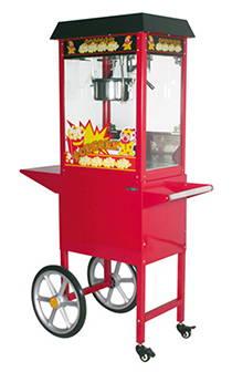 Red Carnival Popcorn Machine