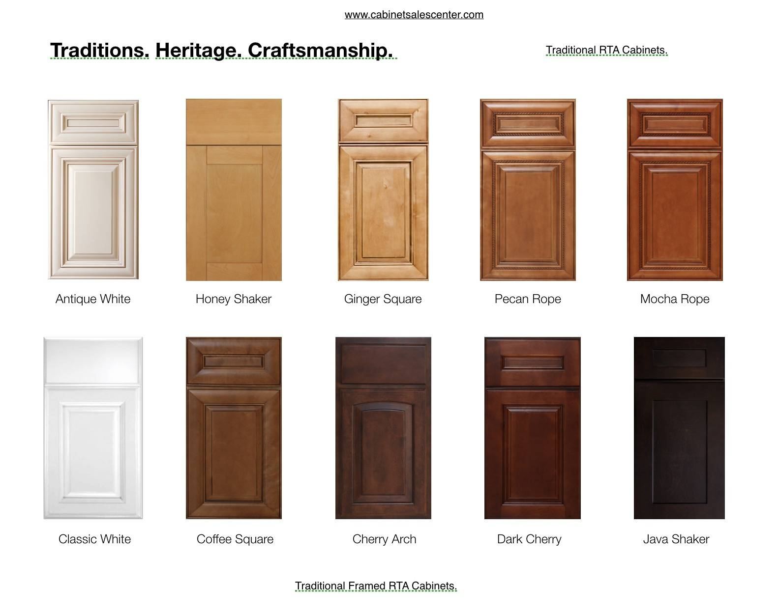 Traditional Cabinets Online Best Price