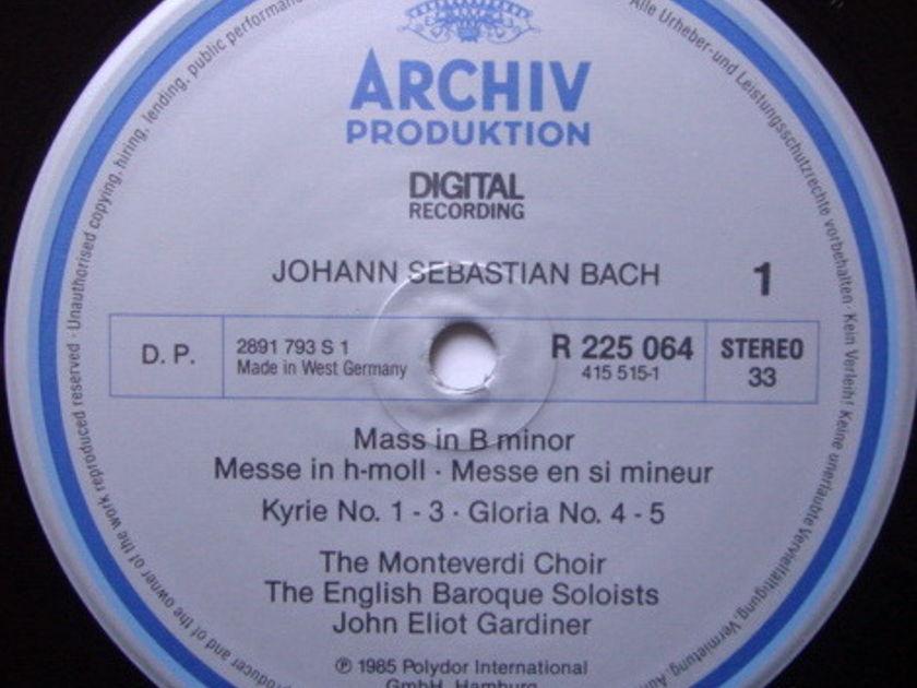 Archiv Digital / GARDINER, - Bach Mass in B Minor, NM, 2LP Box Set!