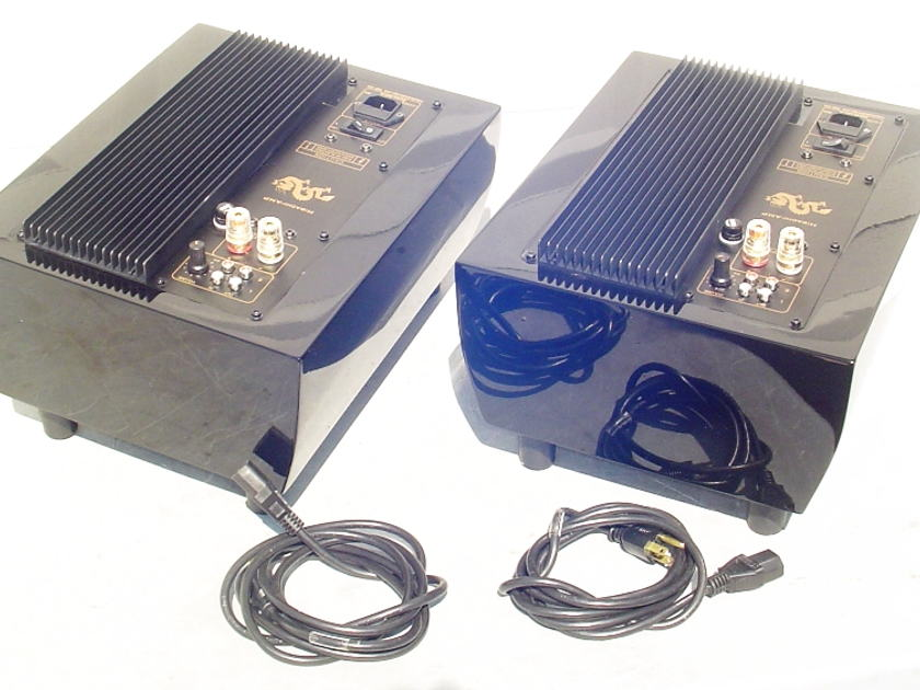 Tube Audio Design TAD-125 Hibachi Mono Block Amplifiers Matched Pair EX Cond