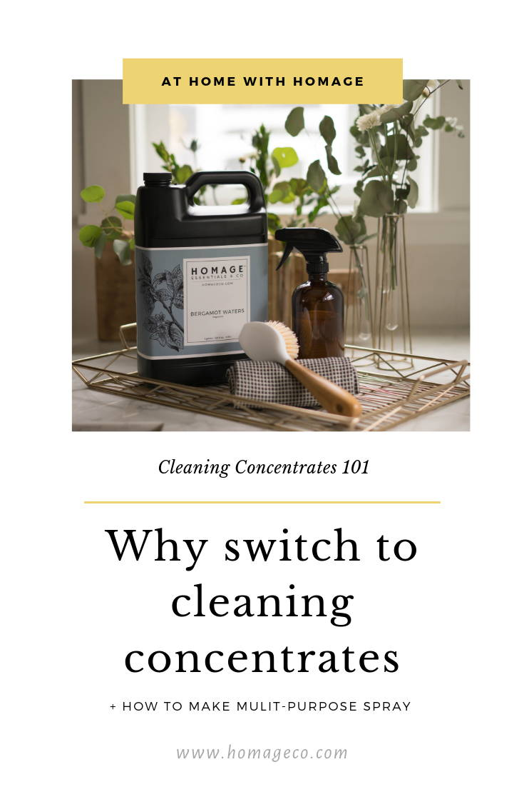 Cleaning Concentrates Why to use them