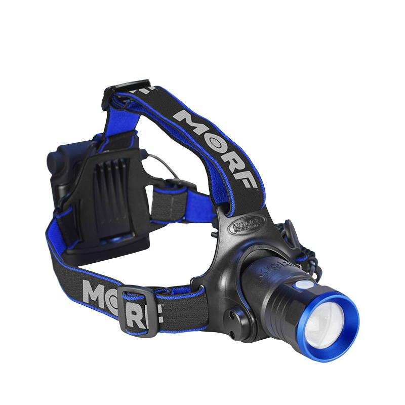 MORF B300 Head Lamp, MORF Head Lamp, Hiking Head Lamp, Head Lamp, Camping Head Lamp, Rechargeable Head Lamp, Removable Head Lamp