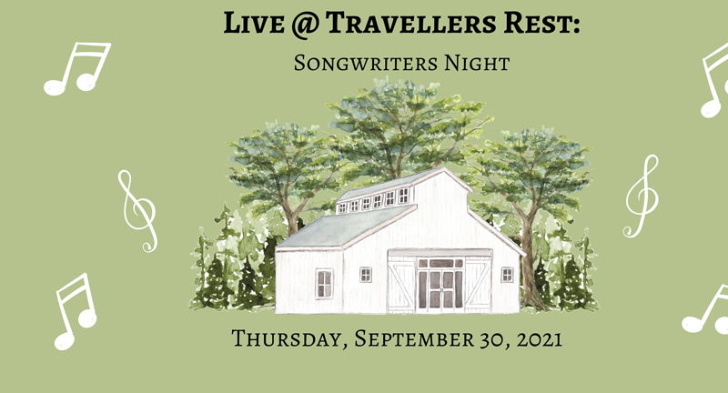 Live @ Travellers Rest Songwriters Night