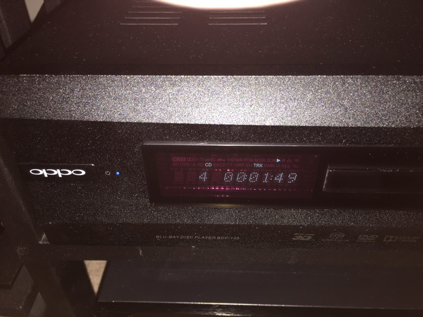 """OPPO BDP-105 MODDED by Upgrade Co """"Signature Edition"""""""