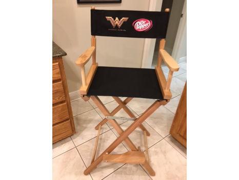 """""""Wonder Woman"""" Director's Chair - Bar Height"""
