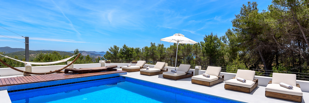 Ibiza - Villa in Es Cubells with stunning views