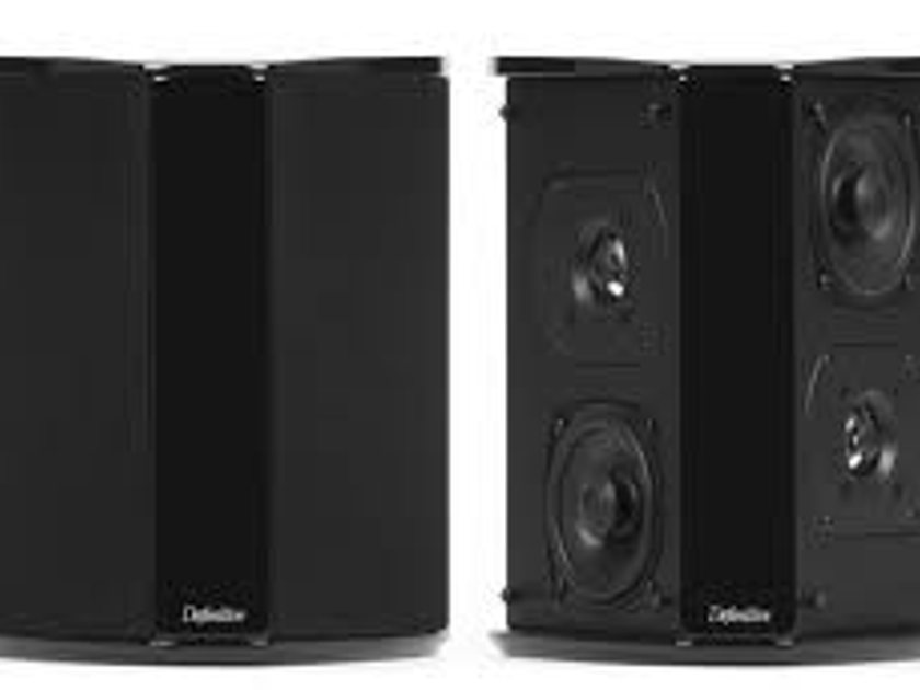 Definitive Technology SR-8040BP Bipolar surround speakers Less than 6 months old