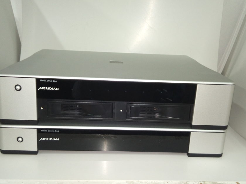 Meridian Meridian Sooloos Media Source 600, Media Drive 600 Music Server with Disk Drive