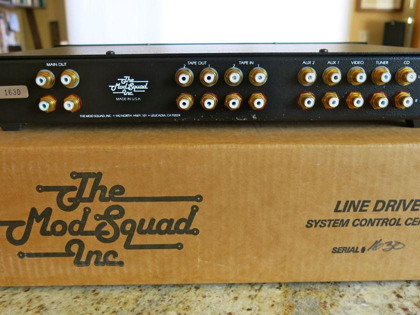 The Mod Squad Line Drive Passive Line Level Control