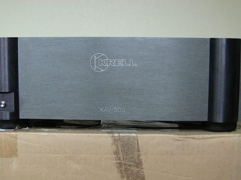 KRELL KAV 500 5-channel amplifier
