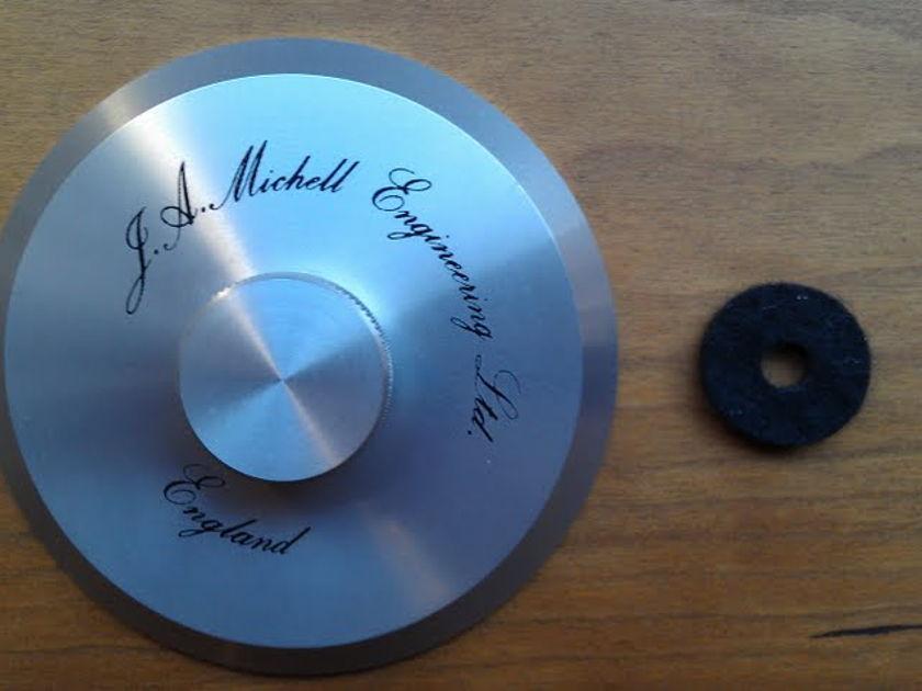 J.A. Michell Record Clamp Original Aluminum Model