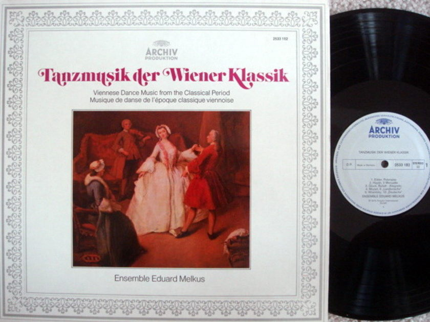 Archiv / MELKUS ENSEMBLE, - Viennese Dance Music from the Classcial Period, MINT!