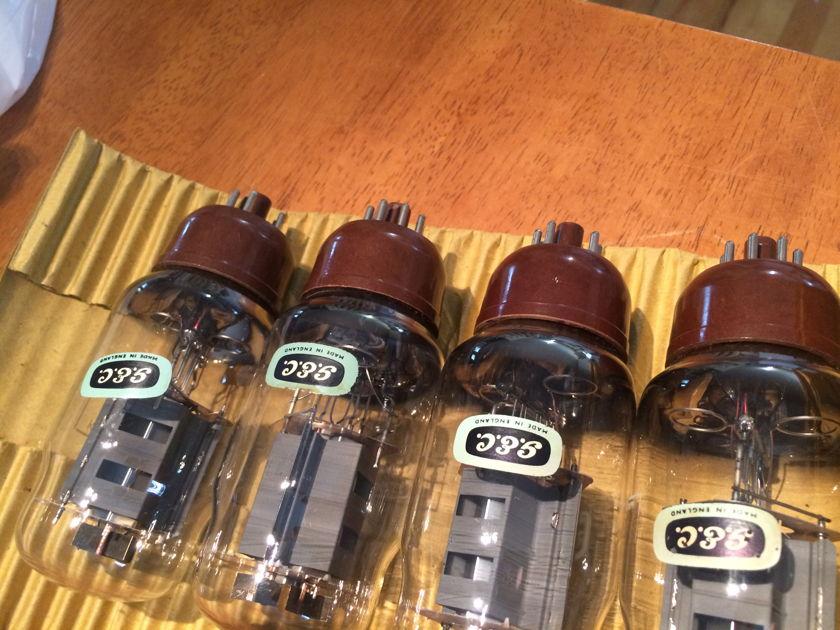 Matched Quad GEC BOTTOM-OO-GETTER CV1075/KT66 # NOS # legendary tubes