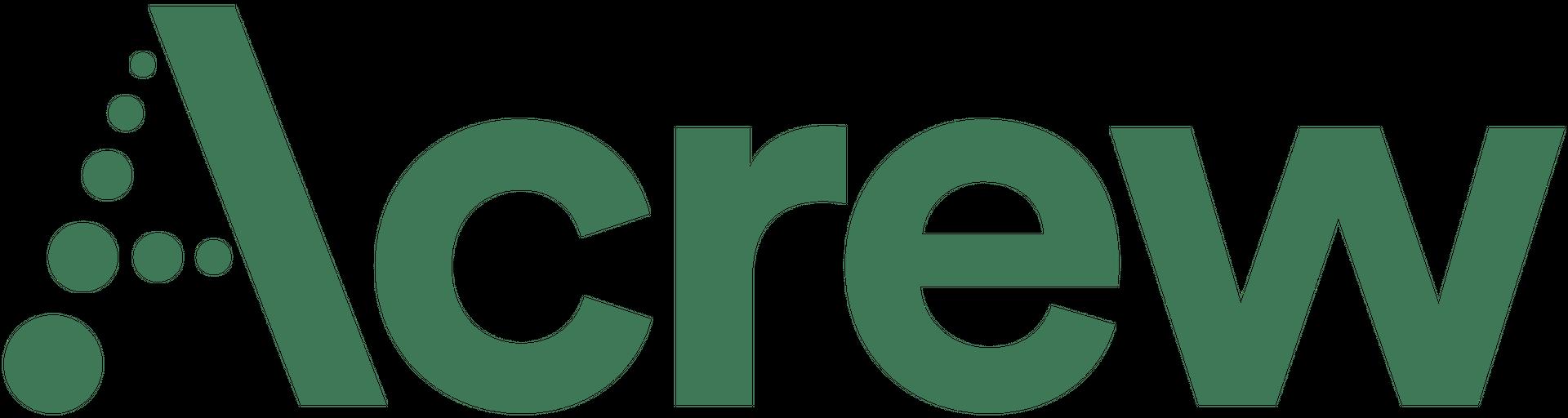 Acrew logo green
