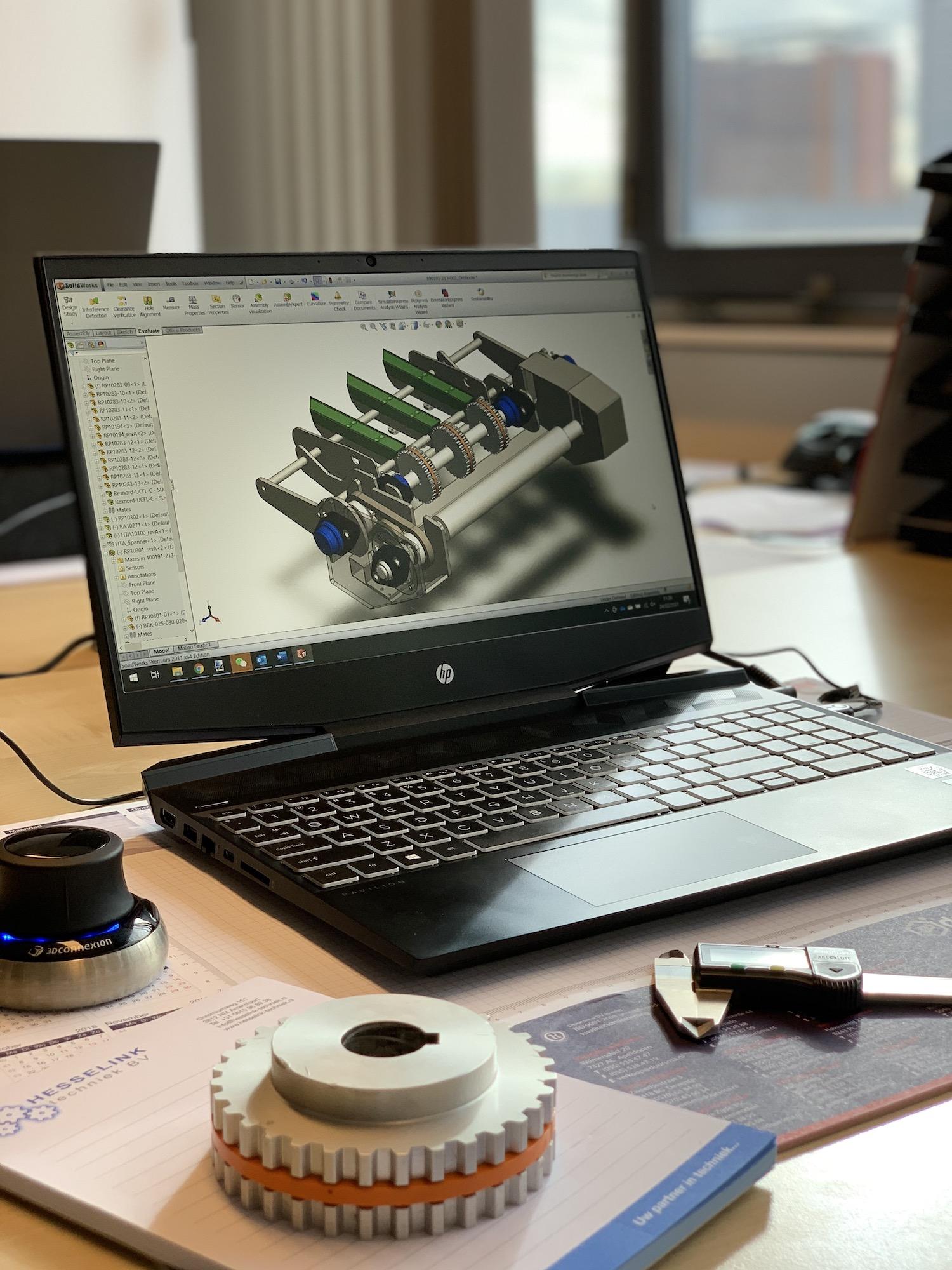 Hesselink techniek engineering ontwerp