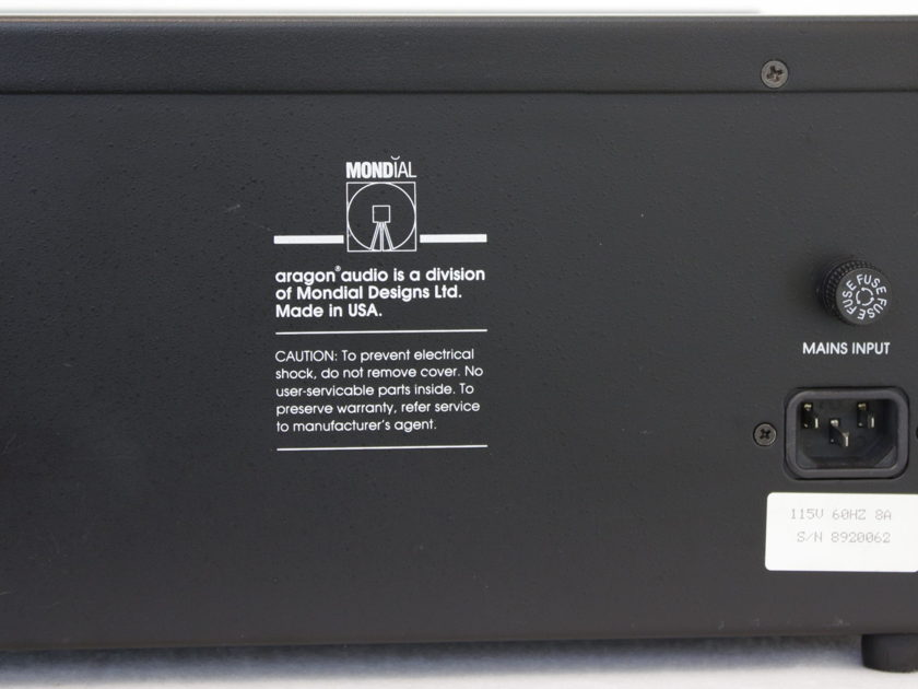 Aragon 2004 Dual Mono Power Amplifier - IOB - Excellent Condition!
