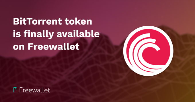 Long-awaited BitTorrent token now available on Freewallet
