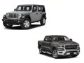One-Year or 12,000 Mile Lease on a 2019 Dodge Ram Truck or Jeep Wrangler Unlimited Sport - LIVE AUCTION ITEM