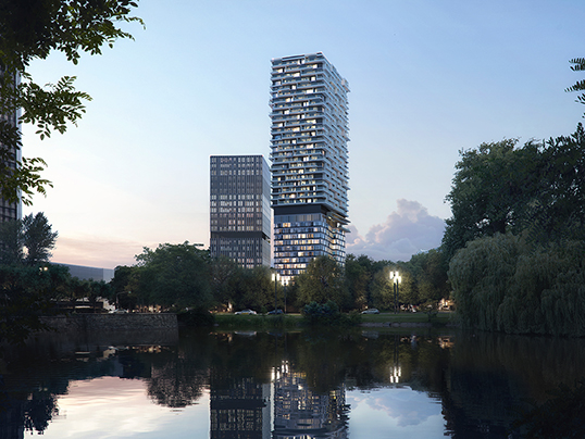 Hamburg - Frankfurt is one of the most lucrative property markets in Germany, and the ONE FORTY WEST development is the latest addition to this dynamic city.