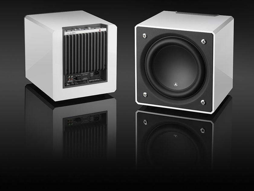 JL Audio E110 White Gloss Pair (2) New! Free Freight