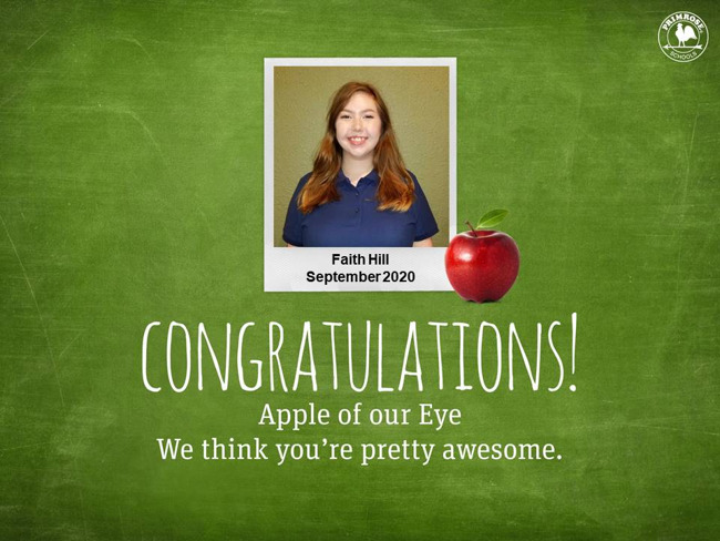 Faith Hill September Apple of our Eye