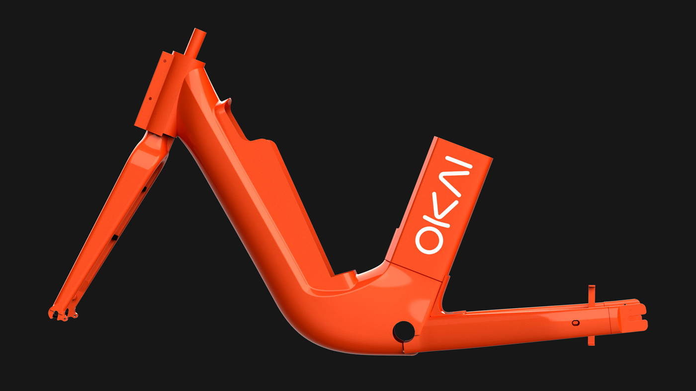 Okai Micromobility Manufacturer, EB100 Electric Bike Frame Solo