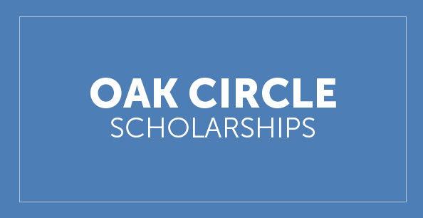 Oak Circle Scholarship button