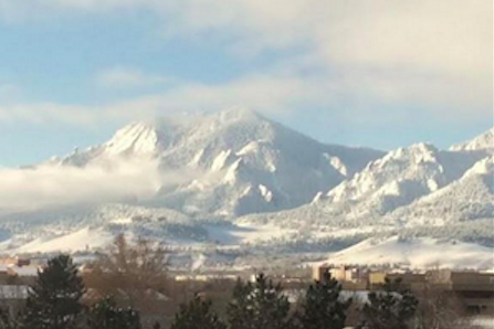 View from the Boulder office.