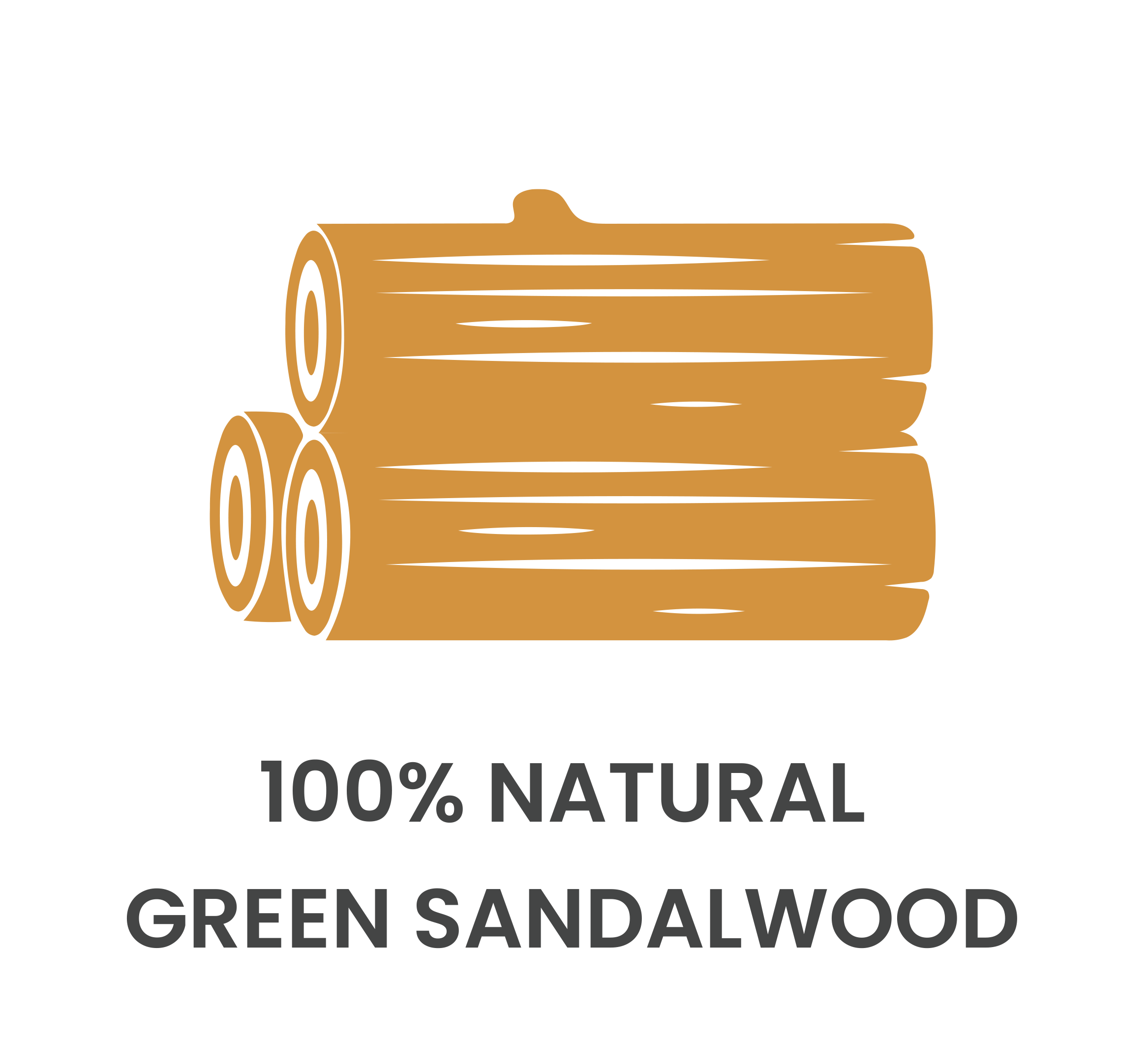 100% Green Sandalwood