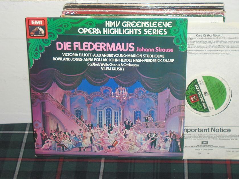Tausky/SWC&O - J Strauss : Der Fledermaus EMI/Greensleeves ESD7083