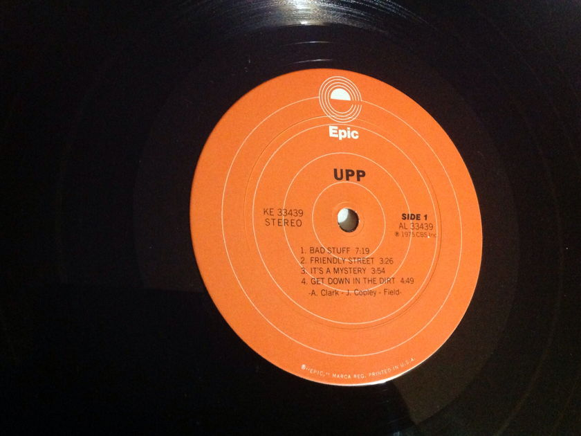 UPP - UPP With Jeff Beck LP NM Orange Epic Label