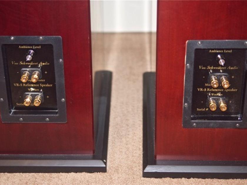 VON SCHWEIKERT AUDIO VR-5 HSE FULL-RANGE SPEAKERS