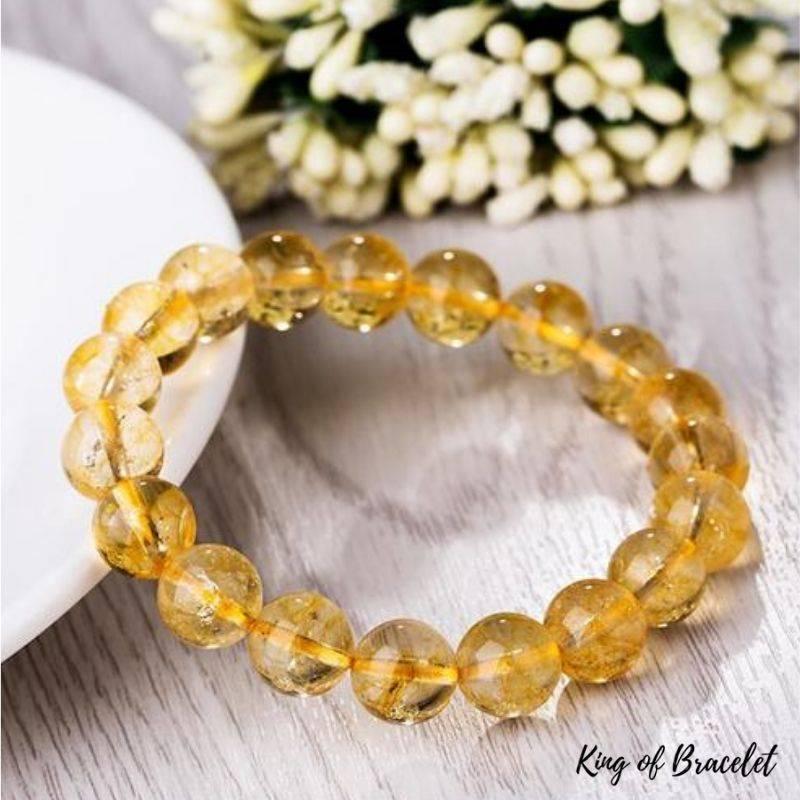 Bracelet de Lithothérapie en Citrine - King of Bracelet
