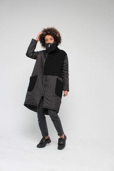 Зимнее пальто на синтепоне на температуру до минус 25 градусов