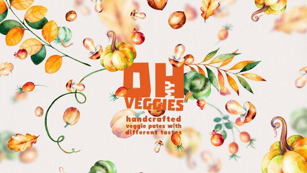 Oh My Veggie Pates