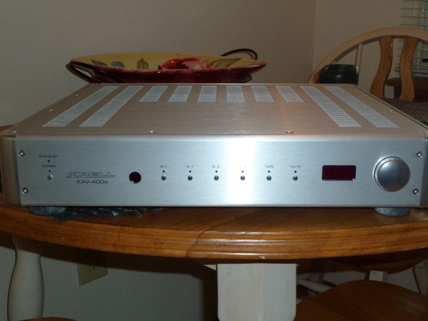 KRELL KAV-400xi Integrated Amp Original Owner