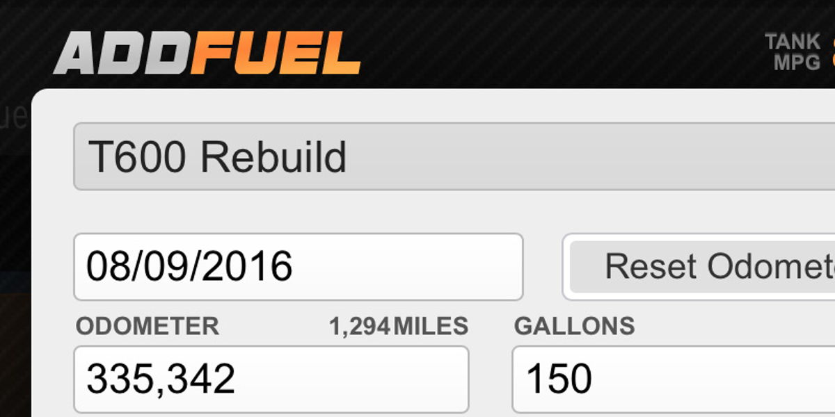 Add fuel-up from iphone or android