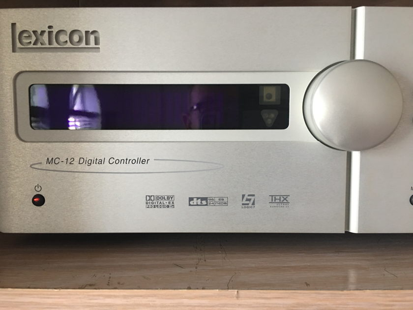 Lexicon MC-12 v5 EQ Including 2 AKG C98 microphones
