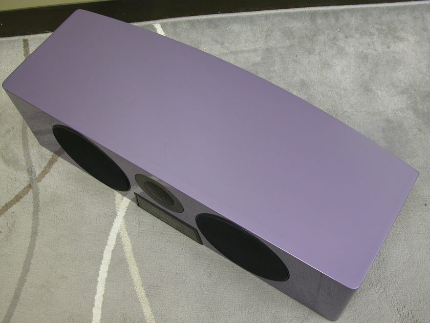 Meridian DSP 5200 HC Center Channel in Light Violet (Stand NOT included)