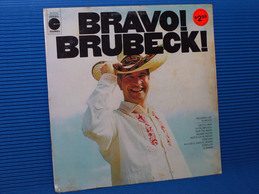 "DAVE BRUBECK QUARTET  - ""Bravo Brubeck"" - Columbia 1980's re-issue SEALED"